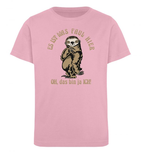 Faultier - Bio - Kinder Organic T-Shirt-6903