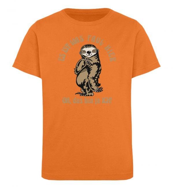 Faultier - Bio - Kinder Organic T-Shirt-6902