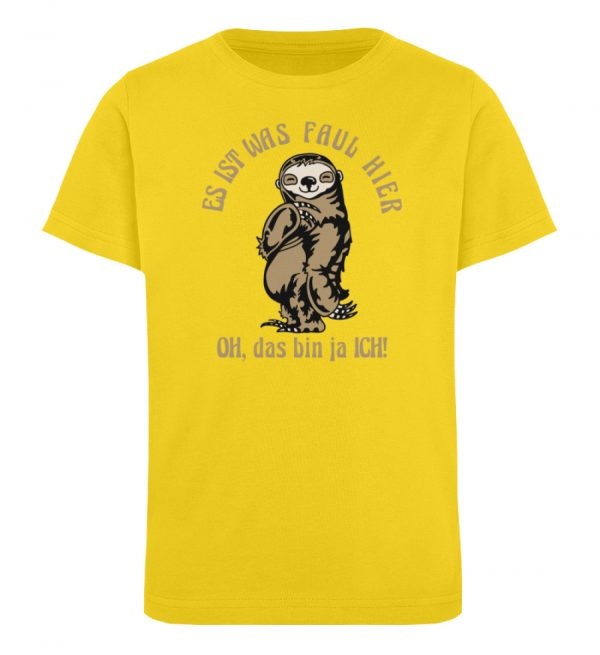 Faultier - Bio - Kinder Organic T-Shirt-6905
