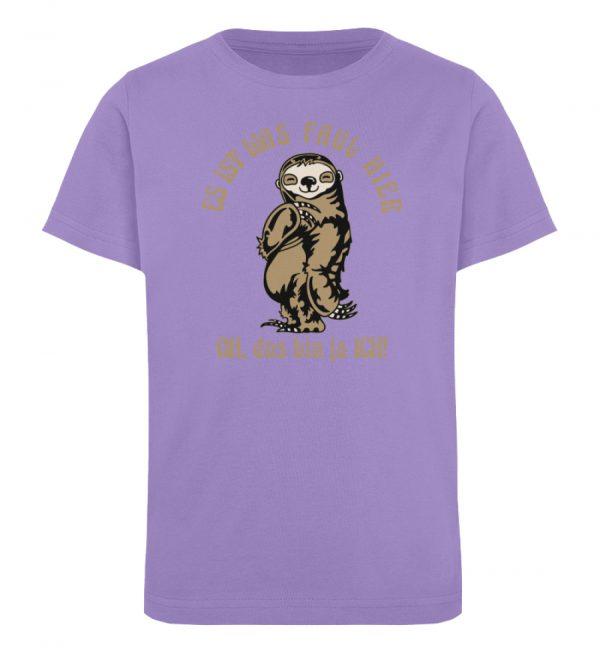Faultier - Bio - Kinder Organic T-Shirt-6904