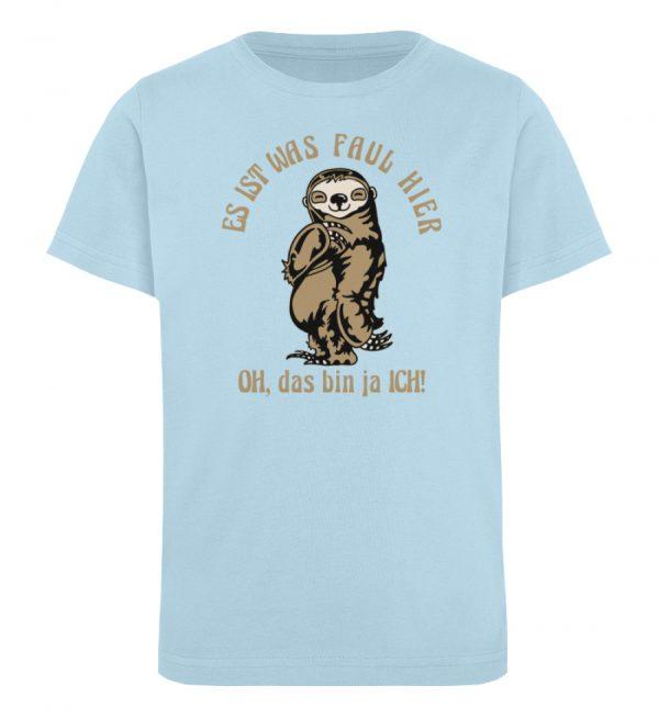 Faultier - Bio - Kinder Organic T-Shirt-6888
