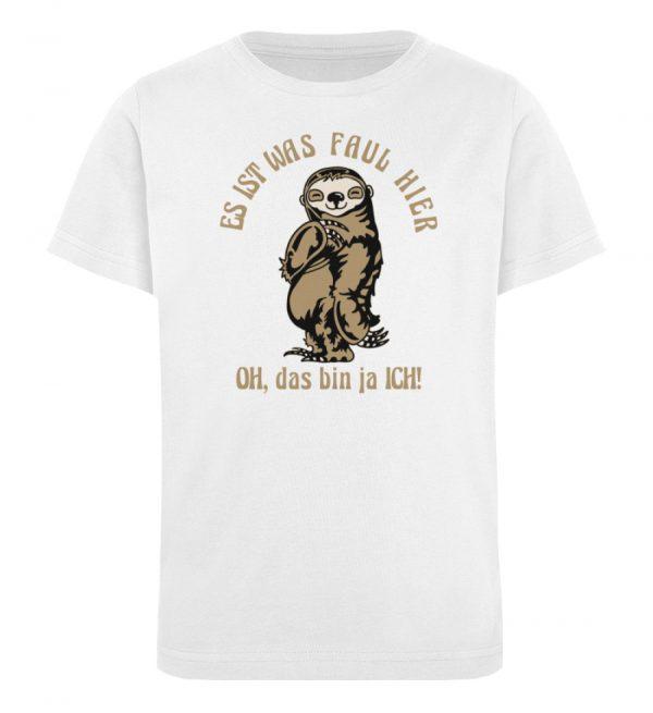 Faultier - Bio - Kinder Organic T-Shirt-3