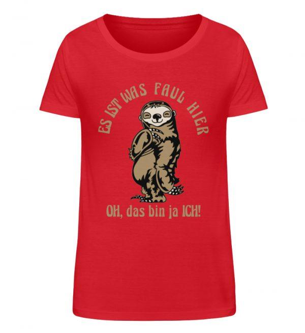 Faultier - Bio - Damen Organic Shirt-6882