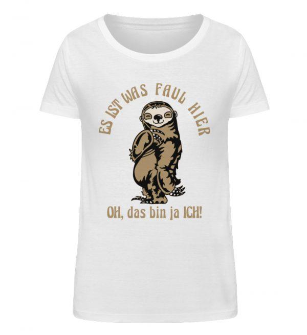Faultier - Bio - Damen Organic Shirt-3